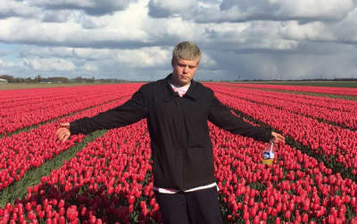 "Yung Lean Drops ""Pearl Fountain"" With Black Kray And Bladee"