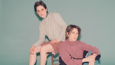 Tegan and Sara are rerecording songs they made in high school for their new album