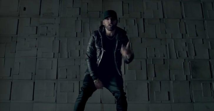 """Eminem's """"Fall"""" music video censors homophobic Tyler, The Creator on"""
