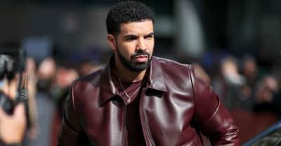 Drake's Aubrey and the Three Migos Tour set features a flying Ferrari