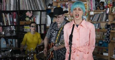 Priests reimagine their punk sound for stripped-back NPR Tiny Desk set