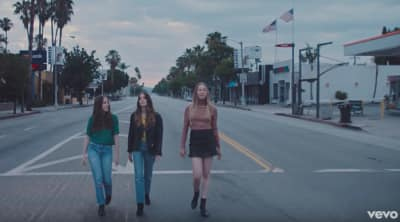 "HAIM Released The Video For ""Want You Back"""