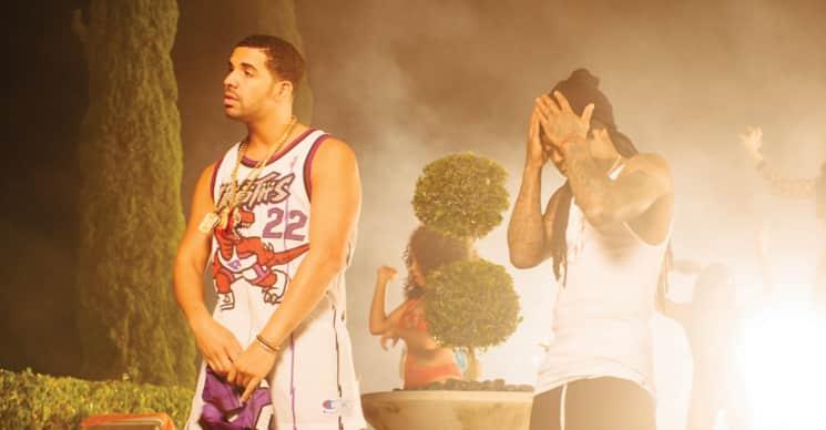 Lil Wayne And Drake's Circles Of Influence