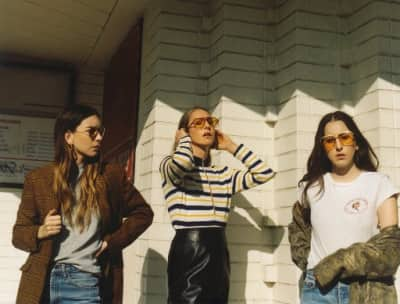 Haim Shared A Clip From The Studio Ahead Of An April 27 Reveal