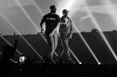 Watch Drake And Giggs Perform Together Live In London