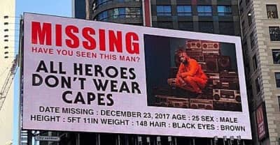 "What is up with these weird Metro Boomin ""missing person"" billboards?"