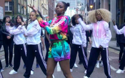 "U.K. Rapper Nadia Rose's ""Skwod"" Video Is An Injection Of Color On A Grey Day"