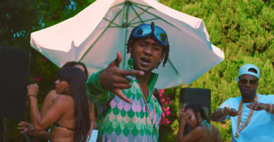 "Rae Sremmurd And Juicy J Party By The Pool In ""Shake It Fast"" Video"