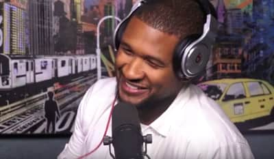 "Usher Performed A Verse From ""Let Me"" On Hot 97"