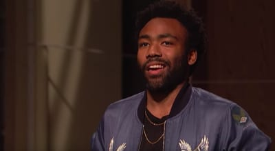 Donald Glover made a cameo in Tina Fey's SNL monologue