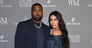 Kim Kardashian attended Kanye West's Donda livestream event