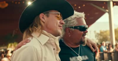 Diplo parties with Guy Fieri in the video for his new country song