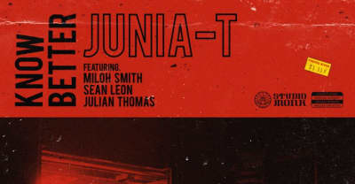 """Producer Junia-T, Miloh Smith, Sean Leon & Julian Thomas cook up the ultimate jam session in """"Know Better"""""""