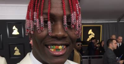 You Have To See Lil Yachty's Incredible Rainbow Grills For The 2017 Grammys