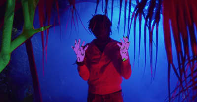 "SahBabii Is In His Own World In The ""Purple Ape"" Video"
