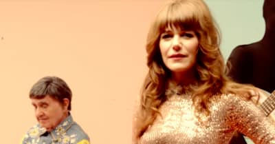 "Jenny Lewis enlists Jeff Goldblum, St. Vincent, Beck and more for ""Red Bull & Hennessy"" video"