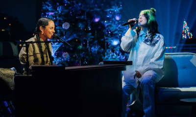 "Watch Billie Eilish perform ""Ocean Eyes"" with Alicia Keys"