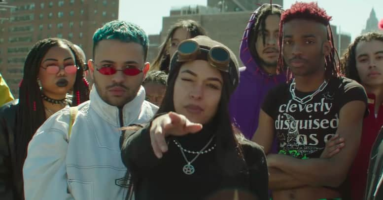 "Princess Nokia's ""Morphine"" video is a stereotype-breaking goth masterpiece"