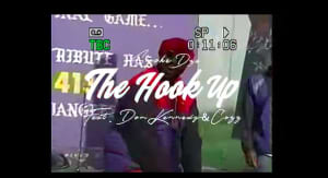 "Smoke DZA released the video for ""The Hook Up"""