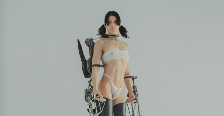 """Arca shares video for new song """"Time,"""" confirms Björk and Rosalía for KiCk i"""