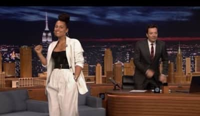 Watch Alicia Keys Impersonate Adele, Gwen Stefani, And More On The Tonight Show