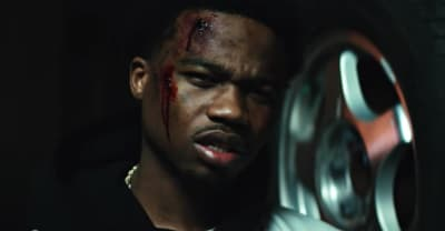 "Roddy Ricch goes to the club with a severe head injury in the ""Boom Boom Room"" video"
