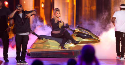 Watch Mariah Carey Perform Live On A Jet Ski