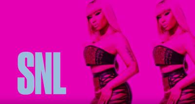 Watch Nicki Minaj's full performances on Saturday Night Live