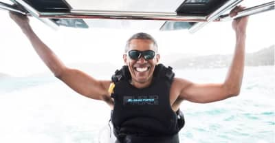 Barack Obama Had The Best Time On Holiday In The British Virgin Islands
