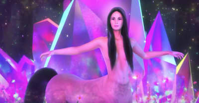 "Kacey Musgraves' ""Oh, What A World"" video features her as a centaur"
