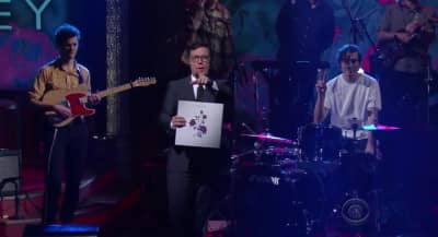 Watch Whitney Make Their T.V. Debut On The Late Show