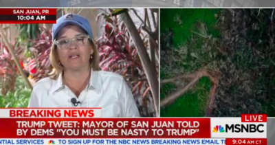 San Juan Mayor Carmen Yulín Cruz continues to advocate for Puerto Rico