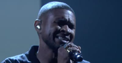 "Watch Usher Perform ""Crash"" On The Tonight Show"