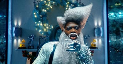 """Lil Nas X is a futuristic Santa Claus in his """"Holiday"""" video"""