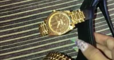 Cardi B's watch-heels are peak timepiece versatility
