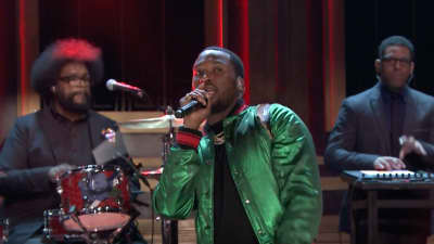 "Watch Meek Mill's Tonight Show performance of ""Dangerous"""