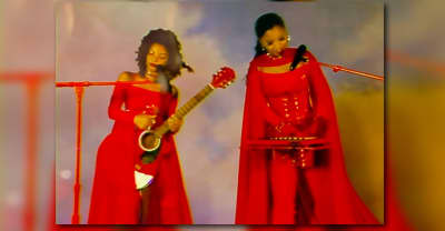 """Chloe x Halle get fired up for their """"Do It"""" performance on Kimmel"""