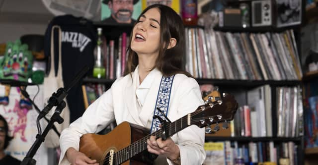 Watch Weyes Blood's NPR Tiny Desk Concert 1
