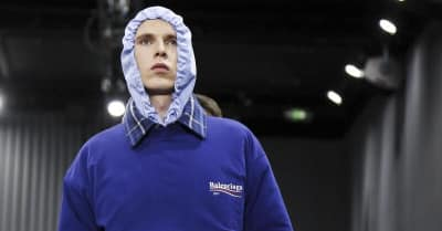 Balenciaga Honored Bernie Sanders's Presidential Campaign On The Runway At Paris Fashion Week