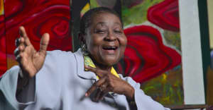 Watch the video for Walshy Fire's vivid new Calypso Rose remix