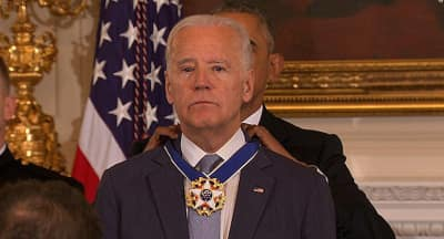 Watch President Obama Honor Joe Biden With The Presidential Medal Of Freedom