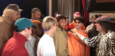 Watch Nardwuar interview Brockhampton