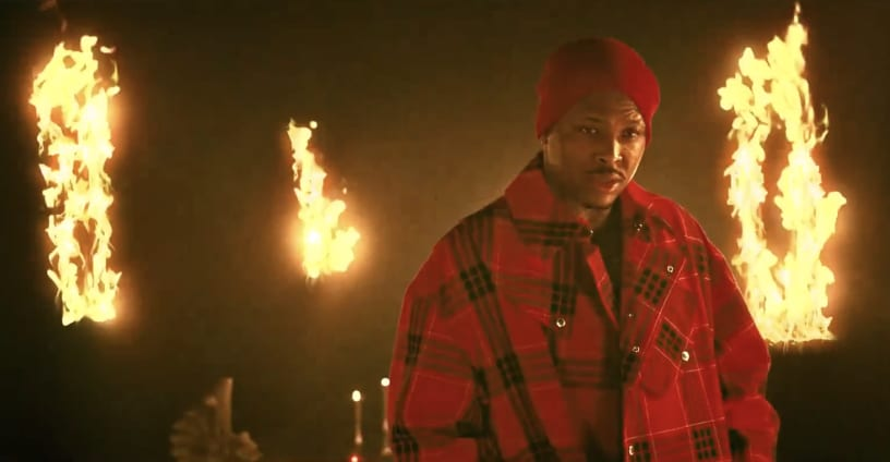 "YG battles his demons for the ""In The Dark"" video"