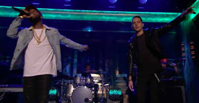 "Watch G-Eazy And Tory Lanez Perform ""Drifting"" On The Tonight Show"