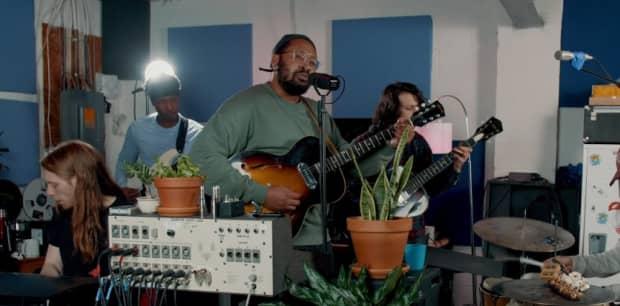 Watch Bartees Strange's NPR Tiny Desk Concert
