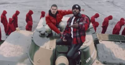 """Slowthai and Skepta face the inquisition in the """"Inglorious"""" video"""