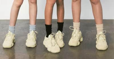 Kanye West shares new Yeezy 500 campaign photos via Twitter