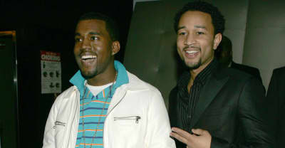 John Legend and Kanye West got booed off each other's stages in the early 2000s