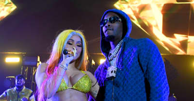 "Watch Cardi B and Offset perform ""Press"" and ""Clout"" at the BET Awards"
