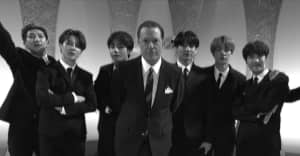 Watch BTS' adorable Beatles homage on Colbert